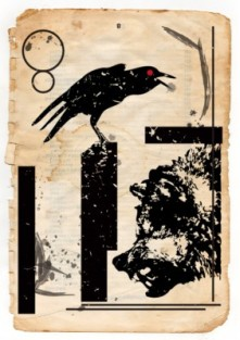 Baba & Yaga illustration for The Dust on the Moth
