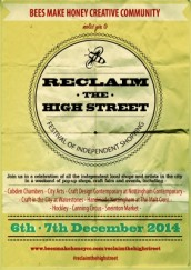 Reclaim the Highstreet festival of independent shopping