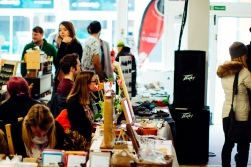 Fringe Arts Fair moves to City Arts on the Sunday due to poor weather - Photo by Zac Pickin