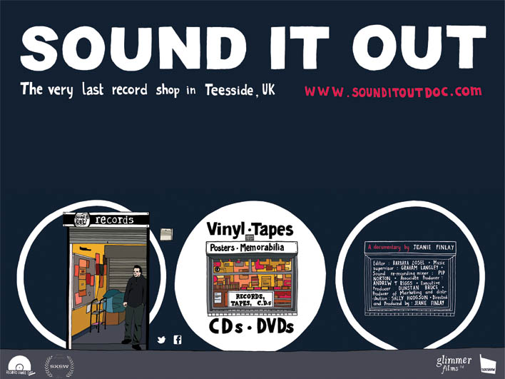 Sound It Out by Nottingham based director Jeanie Finlay was an early crowdfunding success on Indiegogo and has helped reinvigorate a love for record shops.