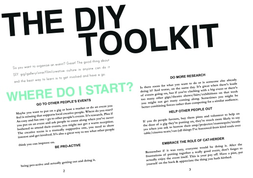 DIY TOOLKIT SCREEN